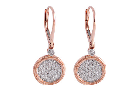 E221-53455: EARRINGS .42 TW