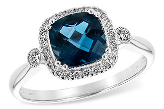 E226-01655: LDS RG 1.62 LONDON BLUE TOPAZ 1.78 TGW