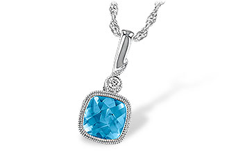 F223-34400: NECK 1.03 BLUE TOPAZ 1.05 TGW
