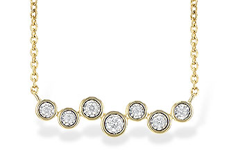 H226-98082: NECKLACE .13 TW