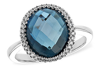M226-02554: LDS RG 5.31 LONDON BLUE TOPAZ 5.45 TGW